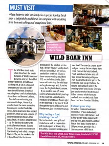 Candis Magazine article about food smoking with Smoky Jo's at Windermere