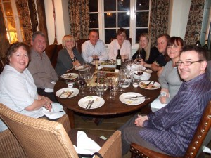 Well fed on smoked food at The Wild Boar Inn, Windermere