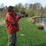 Hello gorgeous! - Success with the fishing rod