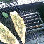 Smoked haddock from the home engineered food smoker