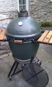 The Big Green Egg Smoker and Grill