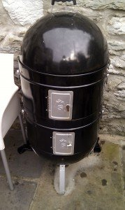 Macs ProQ smoker at L'Enclume