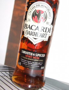 Oakheart Bacardi - with a smokey flavour from charred oak barrels