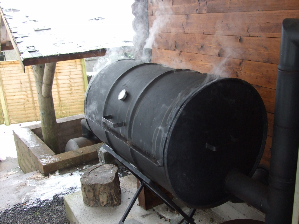 Undaunted By The Weather A Grand Smoking Course Started
