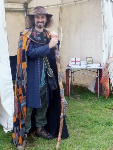 The Journeyman, storyteller Johnny Gillet, Smoky Jo's neighbour at the Cheshire Game Fair