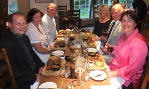 Stakeholders dinner at the Wild Boar