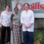 Chandani Dias Abeyagunawardena, Export Director for Cargills with Smoky Geo and Smoky Jo