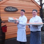 Chef's with their Lake District smokehouse