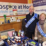 The Hospice at Home stall with ever-smiling vounteers