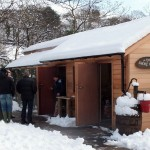 A snowy Smokehouse near Kendal!