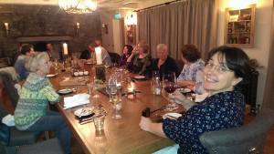Banquet in the new Room at The Wild Boar