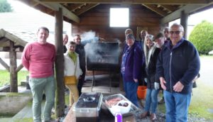 First food smoking course of the year at the Wild Boar